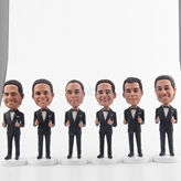 Best men bobblehead for groomsmen gifts