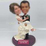 Wedding custom bobble head