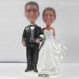 Custom Wedding bobble head doll