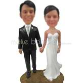 Custom Wedding bobble heads