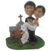 Design cheap custom wedding cake bobble