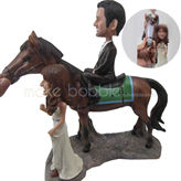 Design man with woman bobble