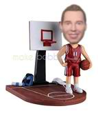 Basketball player personalised bobble head dolls