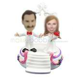 Personalized Castle wedding bobblehead