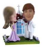 Church wedding make your own bobblehead