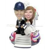 Personalized custom Church wedding bobbleheads