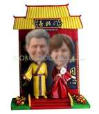 Personalized custom happy couple bobble heads