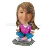 Custom made Meditation bobbleheads