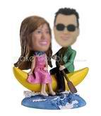 Personalized custom sweet couple bobblehead
