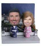 Personalized Customized couple bobblehead