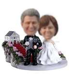 Personalized customized wedding bobbleheads