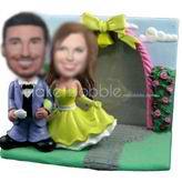 Custom wedding make your own bobblehead