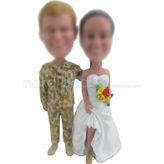 Design personalised cusotm Special wedding bobbleehad doll