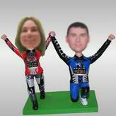 Sport Couples custom made bobble heads
