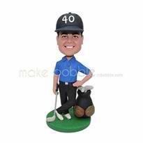 Handsome custom golf bobbleheads