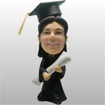 Show Them How Proud You Are With These 5 graduation bobbleheads.