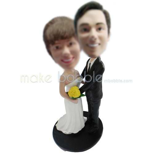 figurines de mariage personnalisé Un amour plus qu un