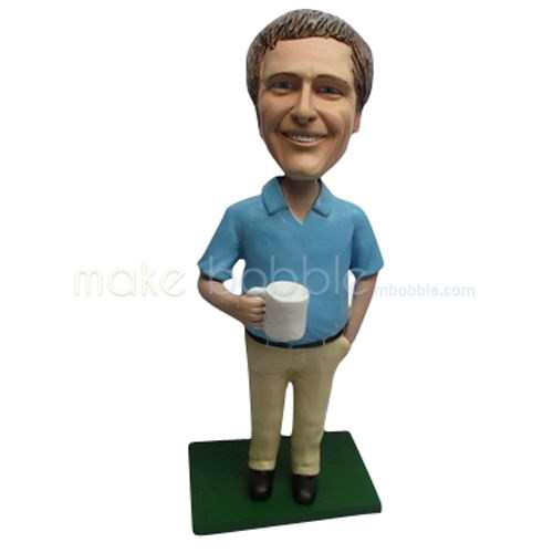 Custom in office bobbleheads