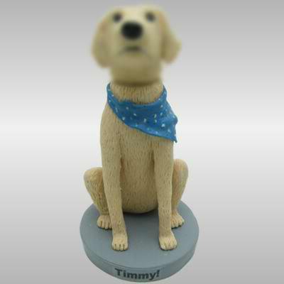 Personalized custom Pet Dog bobbleheads