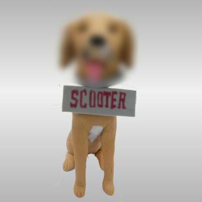 Personalized custom Pet Dog bobble heads