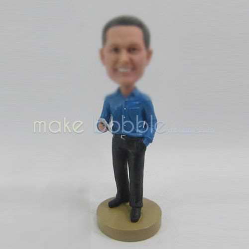 Personalized custom in office bobbleheads