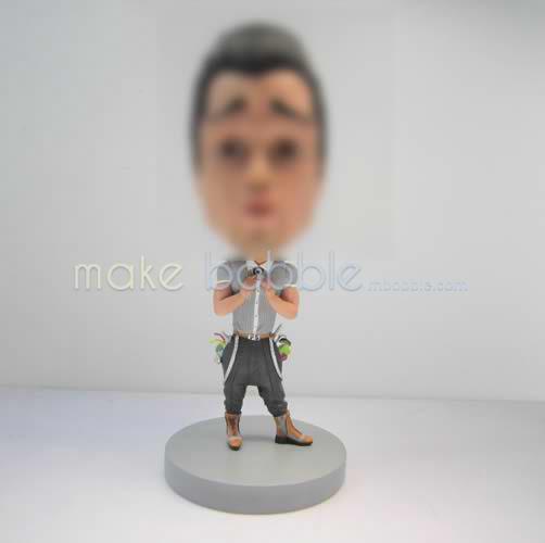 Personalized custom funny man bobbleheads