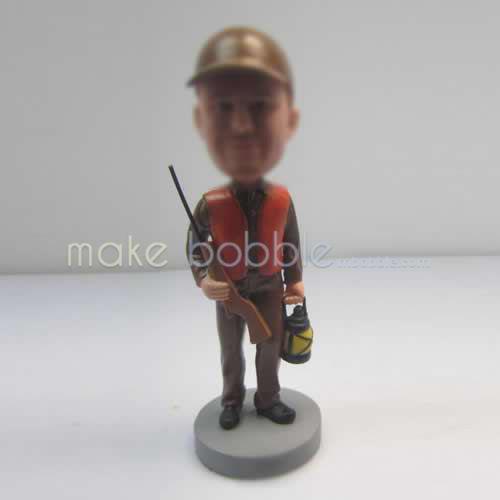 Personalized custom Hunter bobbleheads
