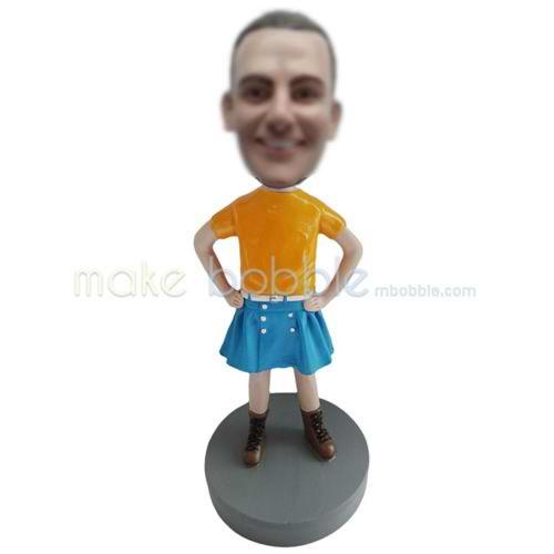 custom orang shirt bobbleheads