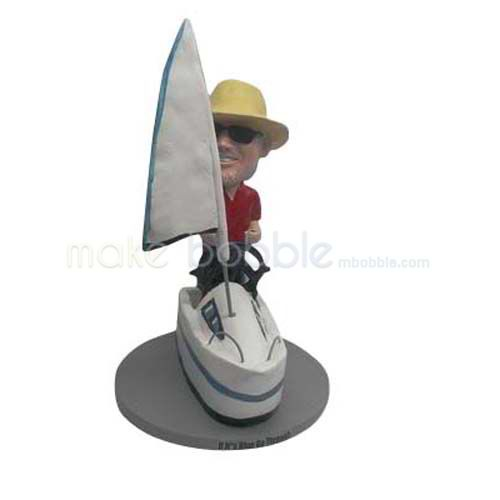 Custom Yacht bobbleheads - a love more than a gift!
