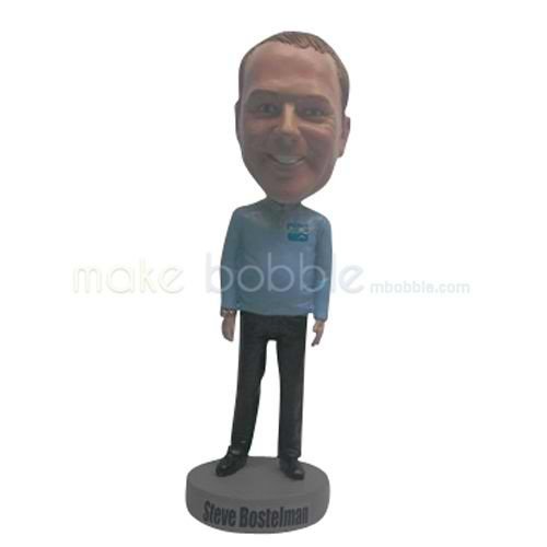Personalized Custom casual man bobbleheads