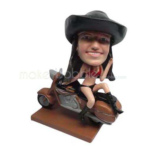 Custom Kids bobbleheads and Motorcycle bobbleheads