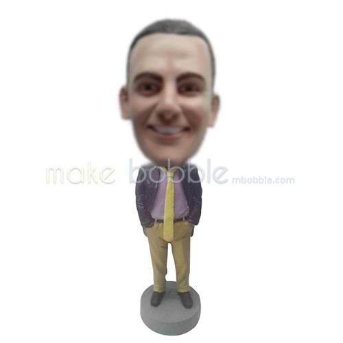custom office male bobbleheads
