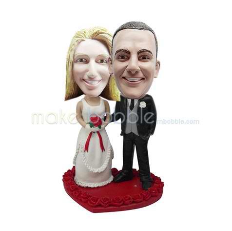 figurines de gâteau de mariage personnalisé professionnels