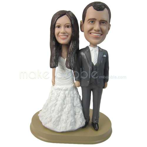 figurines mariage personnalis g teau topper personnalis pour mariage un amour plus qu 39 un cadeau. Black Bedroom Furniture Sets. Home Design Ideas