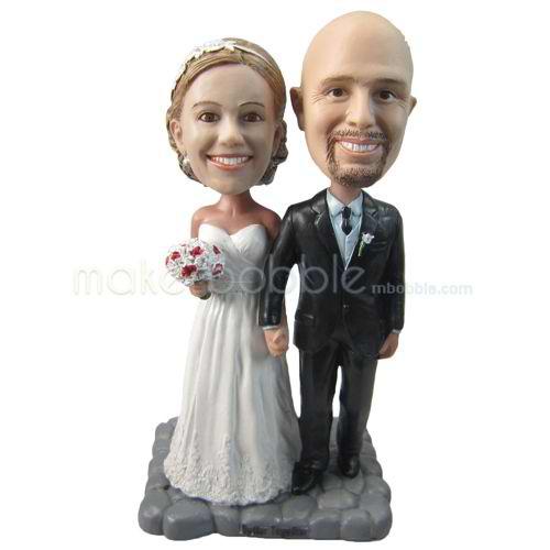 personnalis haut de forme de gteau de mariage sur mesure - Figurine Gateau Mariage Personnalis