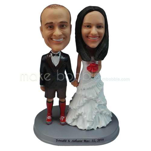 personalized custom funny wedding cake topper