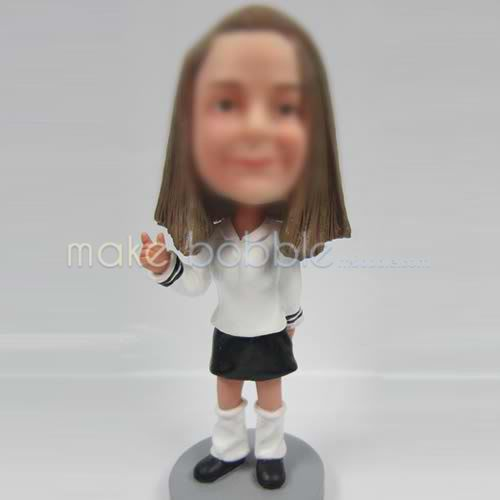 bobbleheads of Casual woman