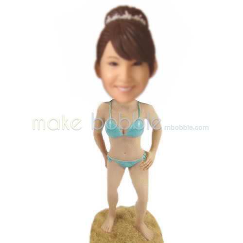 custom Bikini bobbleheads