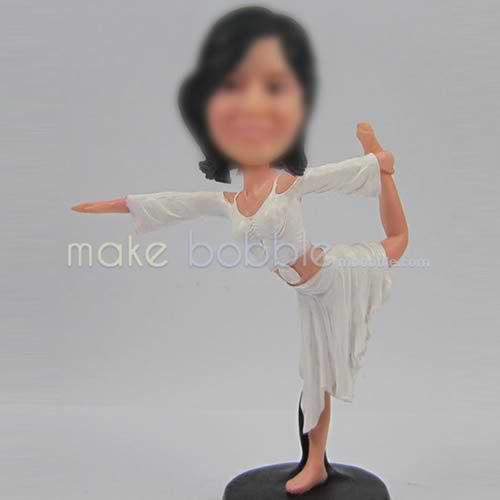custom Yoga bobble head doll