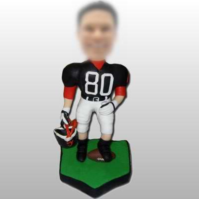 Football Player custom made bobble heads