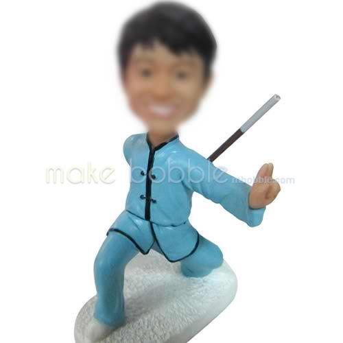 Kung Fu bobbleheads