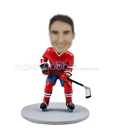 Custom bobblehead dolls of Hockey Players