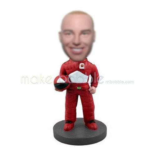 bobbleheads custom made Racing driver doll