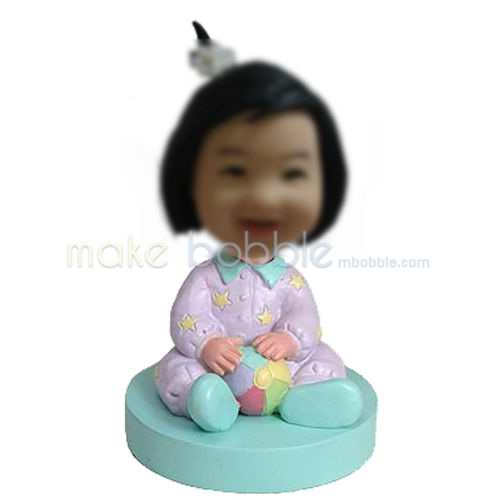 Personalized custom Little Baby bobbleheads