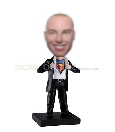 Custom bobblehead dolls superman