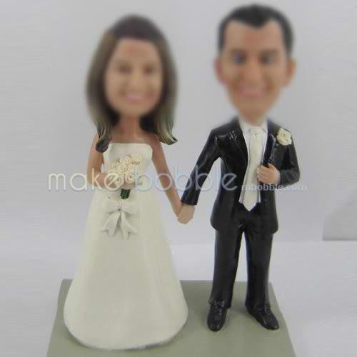 figurines de mariage personnalisé professionnels Un