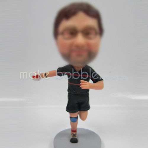 personalized happy sports bobble heads