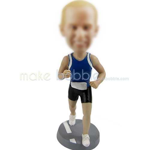 Custom bobbleheads runner dolls